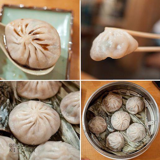 xiao long bao zi. steamed juicy pork buns. oh I miss them.. but it's okey...