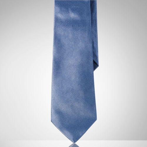 Blue Silk Tie by Ralph Lauren Purple Label. Buy for $215 from Ralph Lauren