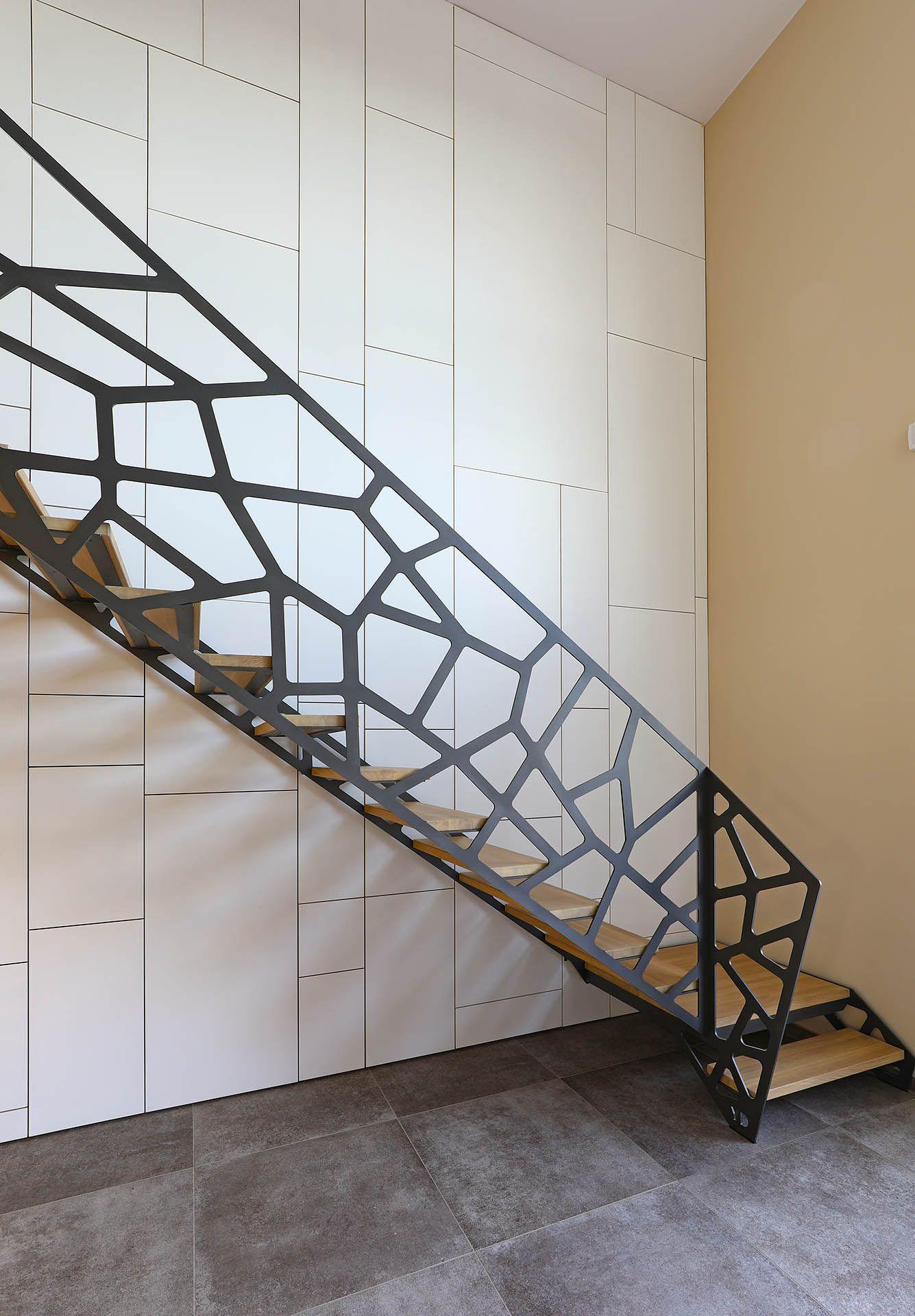 Yves deneyer menuiserie m tallique ferronnerie - Barandillas para escaleras interiores modernas ...