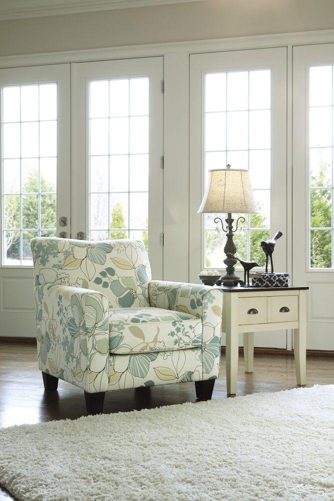 Daystar Seafoam Accent Chair Ashley Furniture Furniture