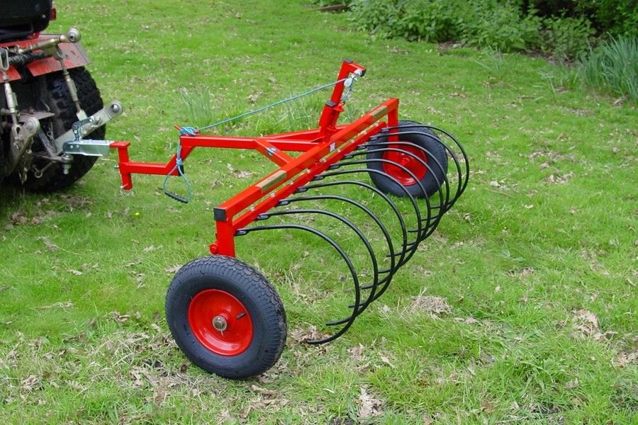 "SCH 55"" Hay Rake (10 Tines) Small scale farming"
