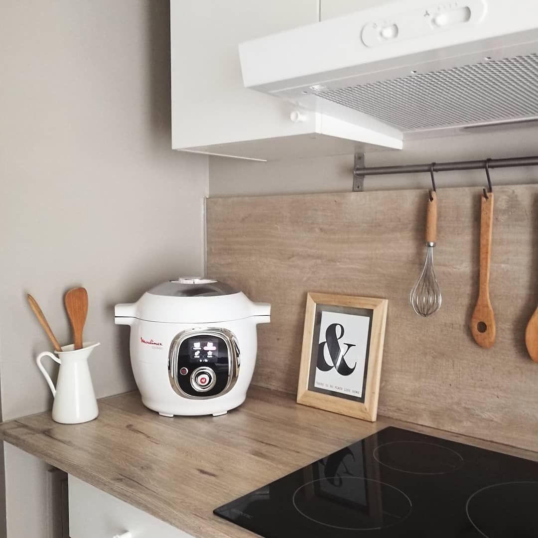 Avec Son Joli Design Le Cookeo Devient Un Objet Deco Dans La Cuisine Cocooning Home Aurelie Deco Cuisine Inspiration Cookeo Tou Objet Deco Deco Design