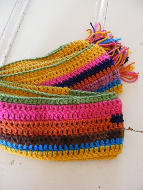 Crocheted Scarf - even if you don\'t know how to crochet yet, this is ...
