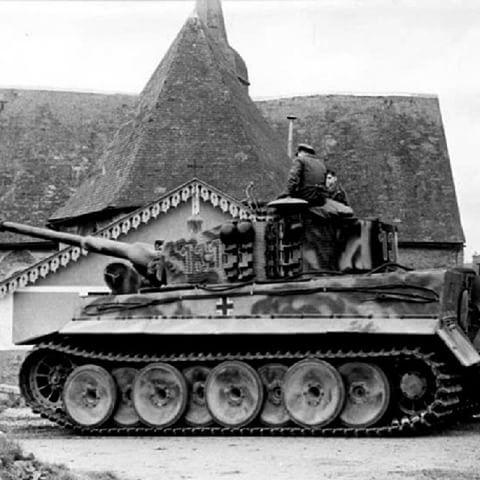 German panzer tiger in normandy france alemania - Haute normandie mobel ...