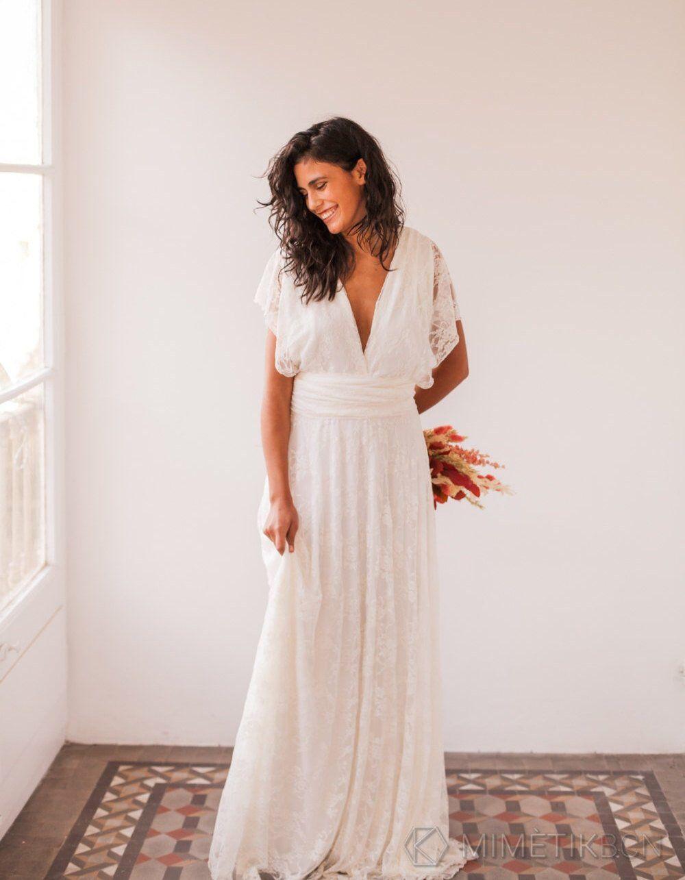 Bohemian wedding dress wedding dresses bohemian lace wedding dress
