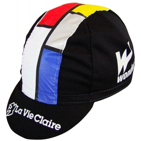 La Vie Claire Vintage Cotton Cycling Cap