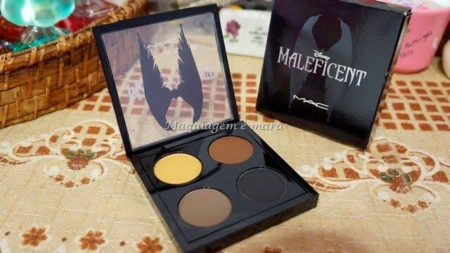 Quarteto de sombras Maleficent MAC