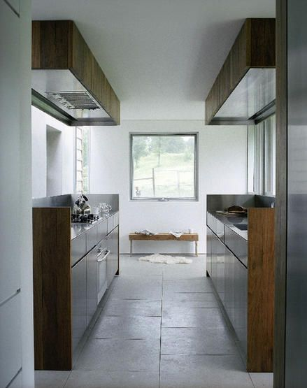 Home Inspiration: Galley Kitchens