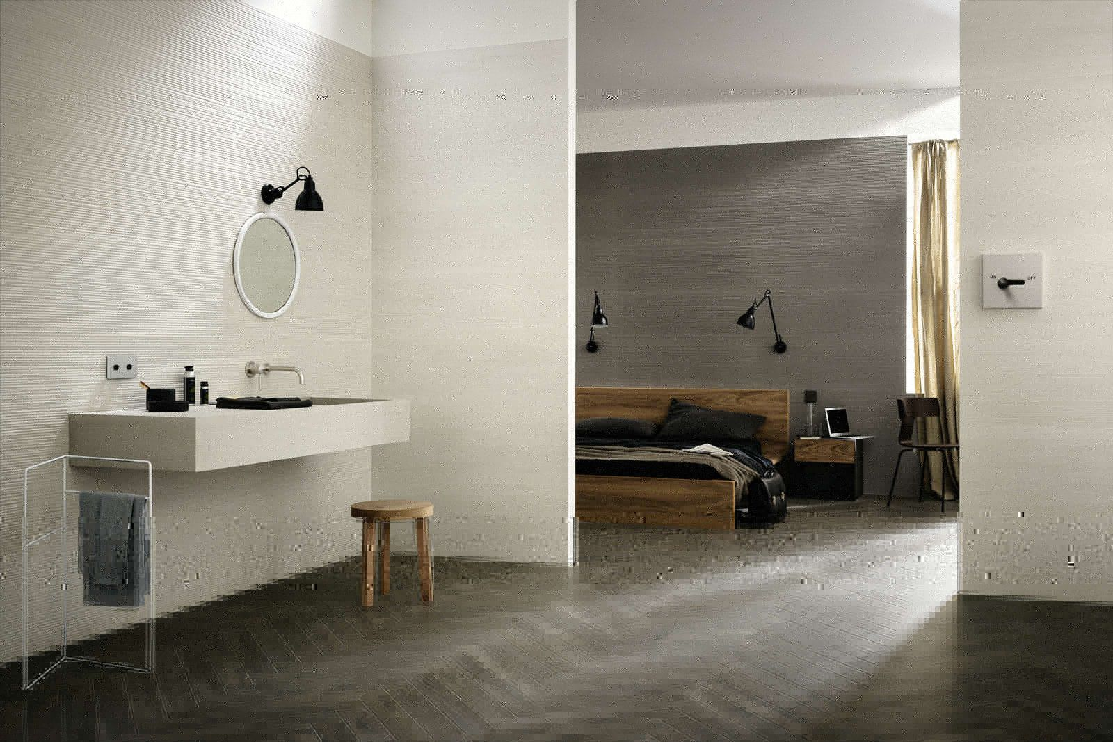 marazzi #materika off white 40x120 cm mmfq | #feinsteinzeug, Badezimmer ideen