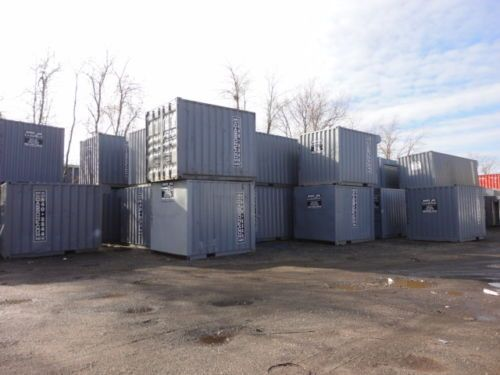 8 X 10 Storage Container With Roll Up Door Roll Up Doors Modular Building Storage Containers