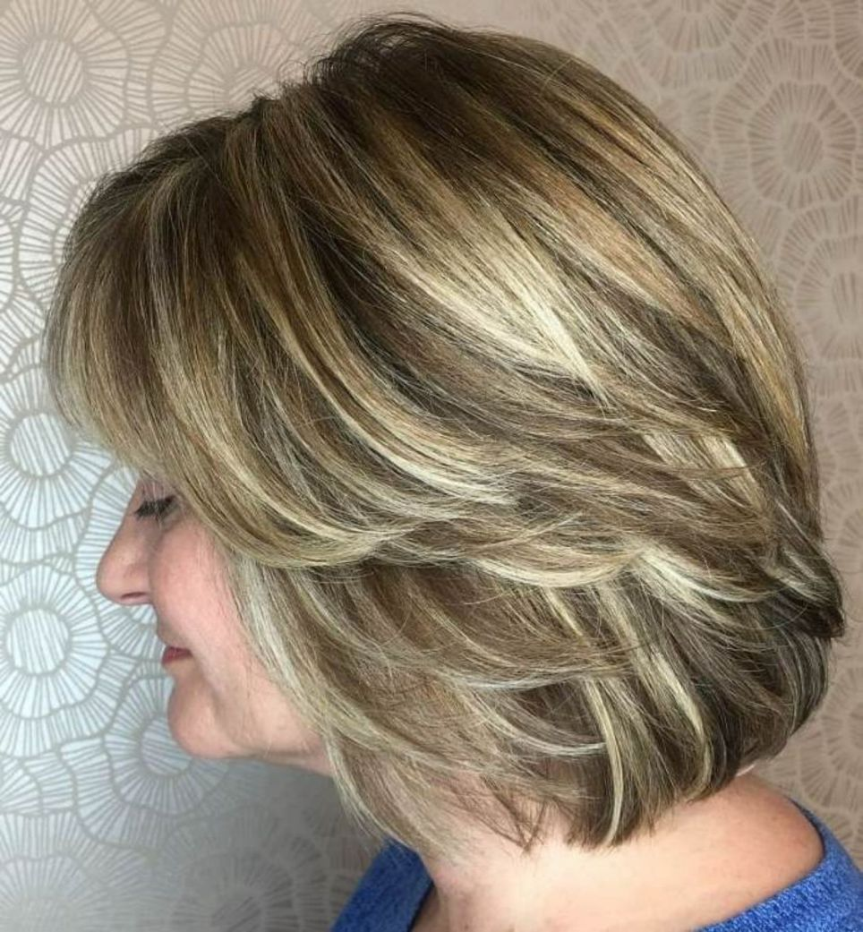 50 Modern Haircuts For Women Over 50 With Extra Zing Haircuts For Medium Length Hair Layered Haircuts For Medium Length Hair Medium Length Hair Styles