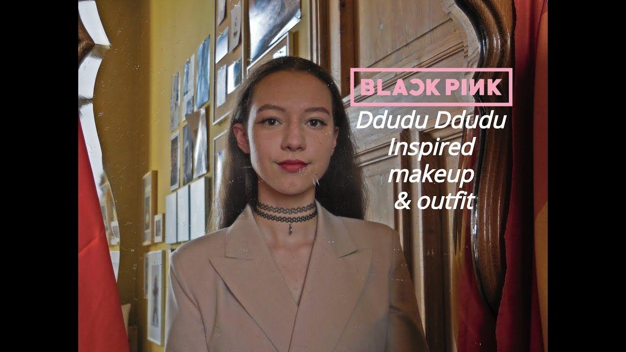 Blackpink Lisa Ddu Du Ddu Du Inspired Makeup Outfit Eng