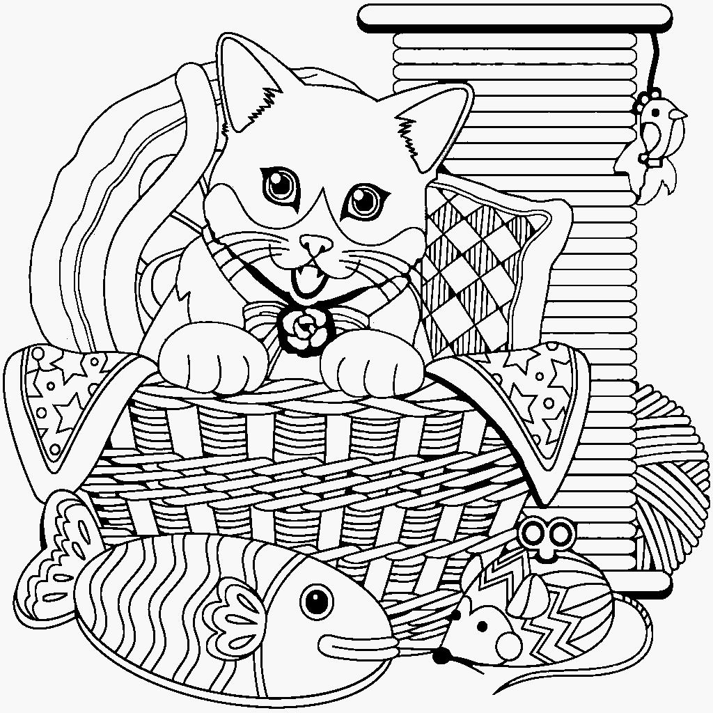 Cat Coloring Book For Me App Koshki Tochki