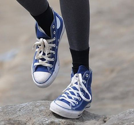 Wedding shoes blue converse high tops 38 Ideas | Converse
