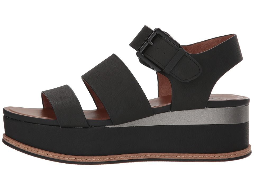 8d64621b033 Naturalizer Billie Women's Wedge Shoes Black Nubuck Synthetic in ...