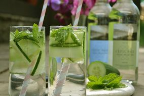 Cucumber, Mint & Celtic Vale Natural Mineral Water
