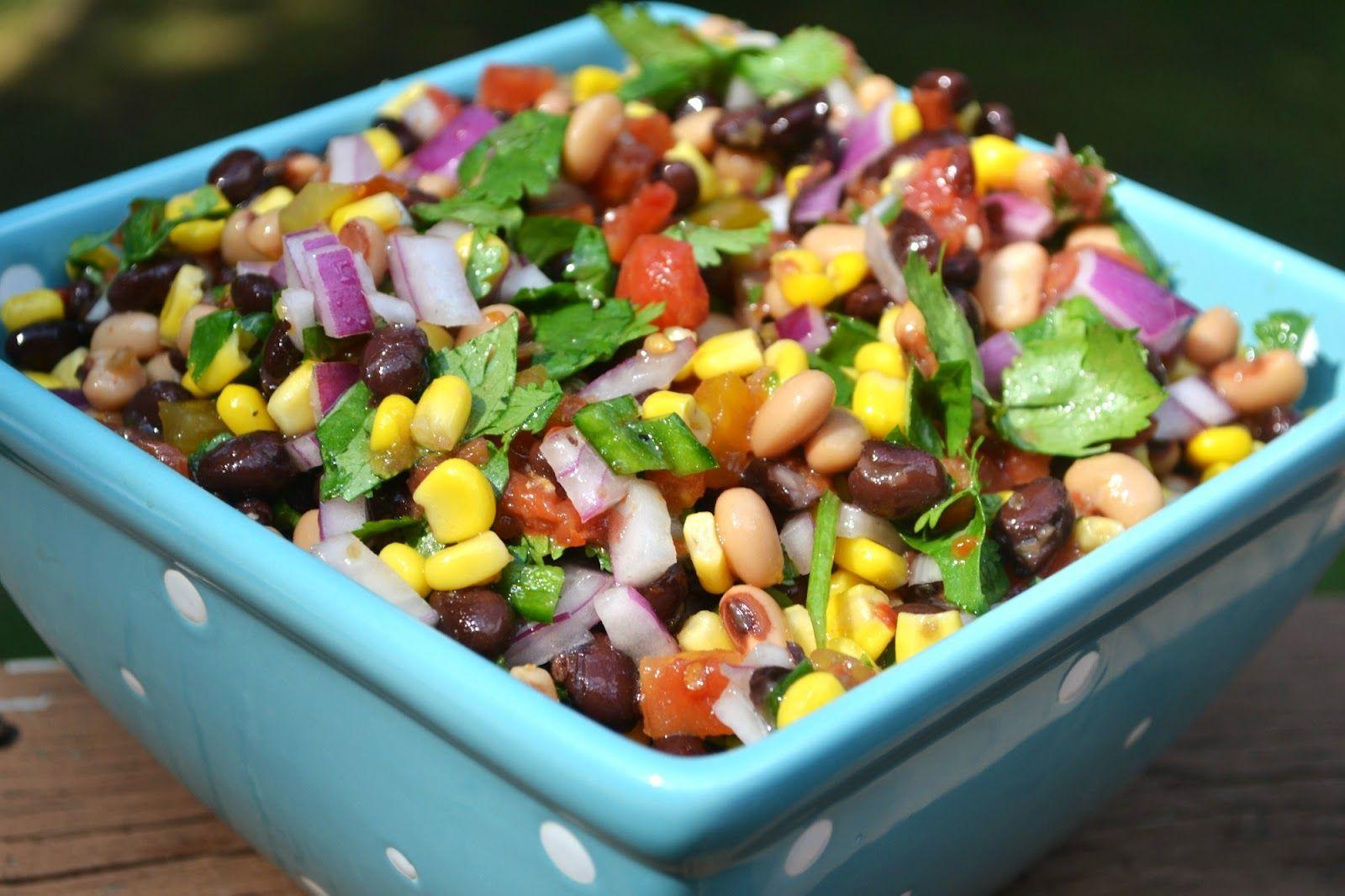 Bean & Corn Salsa - simple, fresh, and SO flavorful!!