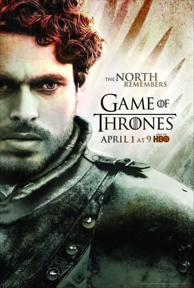 Season 2 Poster Robb Stark Affiches Game Of Thrones Game Of