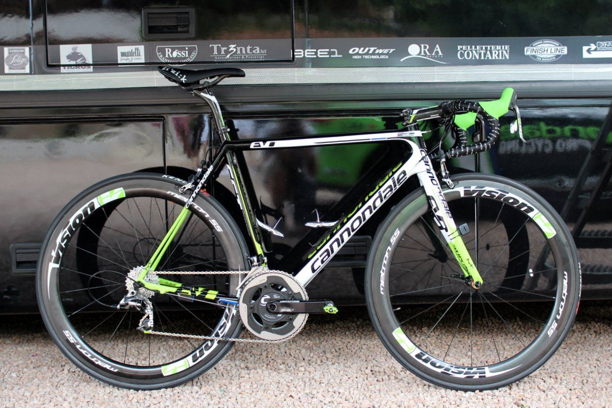 25114cbc9ec Pro bike: Peter Sagan's Cannondale SuperSix Evo Hi-Mod | Road Cycling UK -  Peter Sagan's Cannondale SuperSix Evo Hi-Mod (in its 2014 team issue  livery) ...