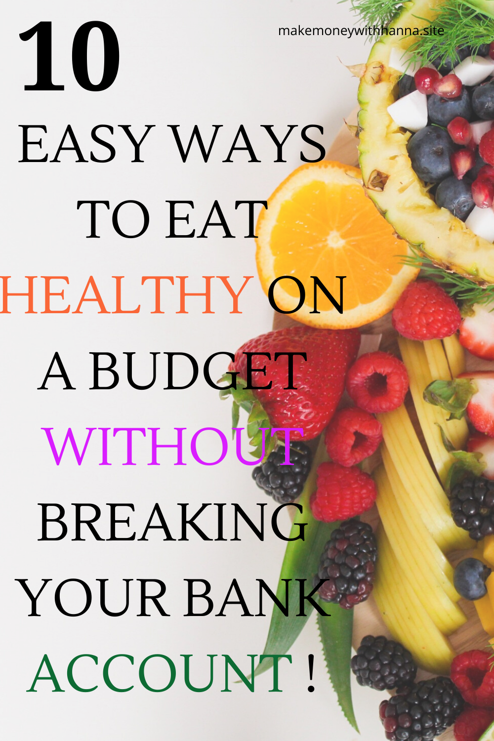 10 Easy Ways To Eat Healthy On A Budget In 2020 Ways To Eat Healthy Healthy Eating Healthy