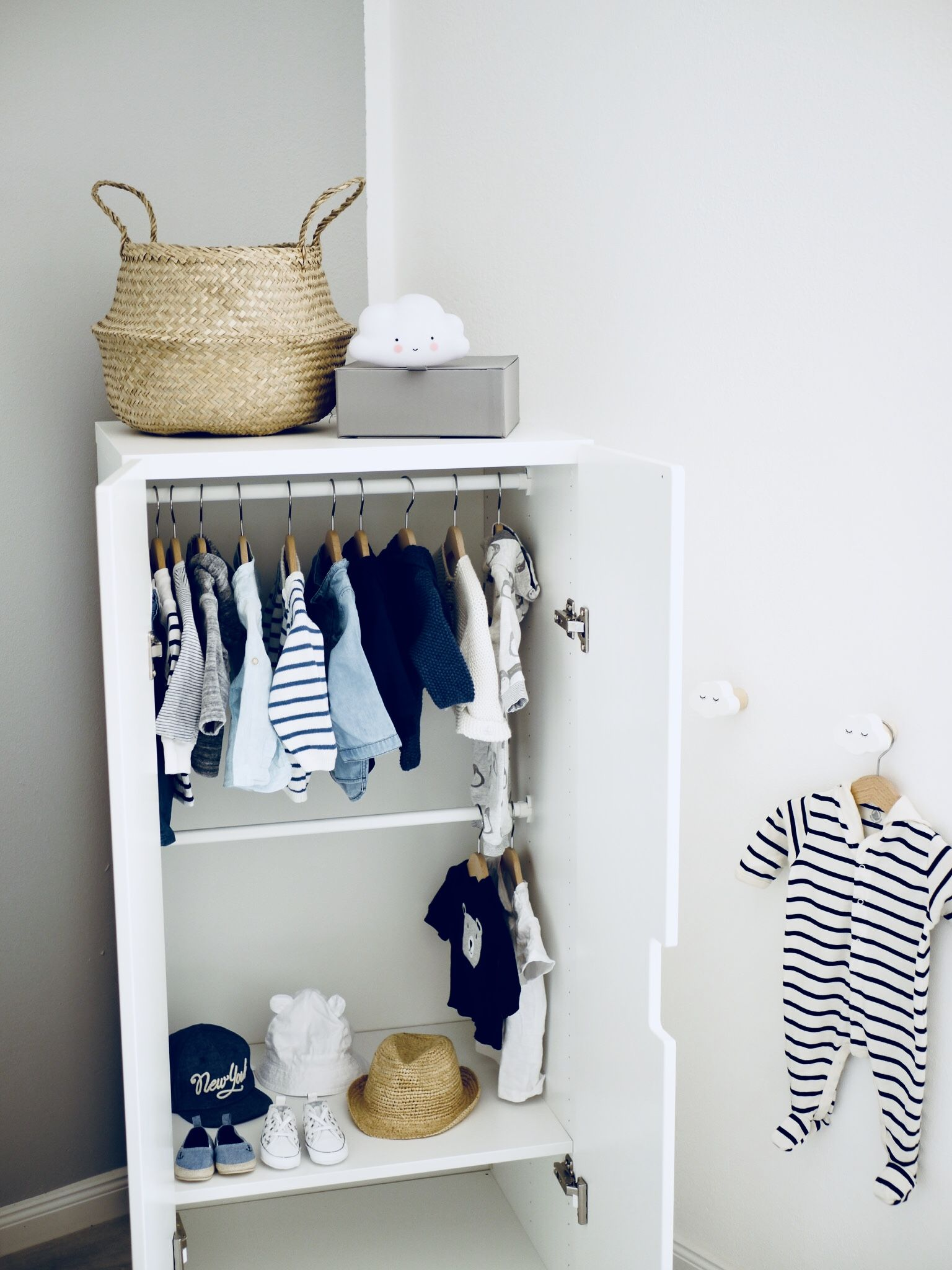 This Is Our Wardrope For Our Little Babyboy Kinderschrank