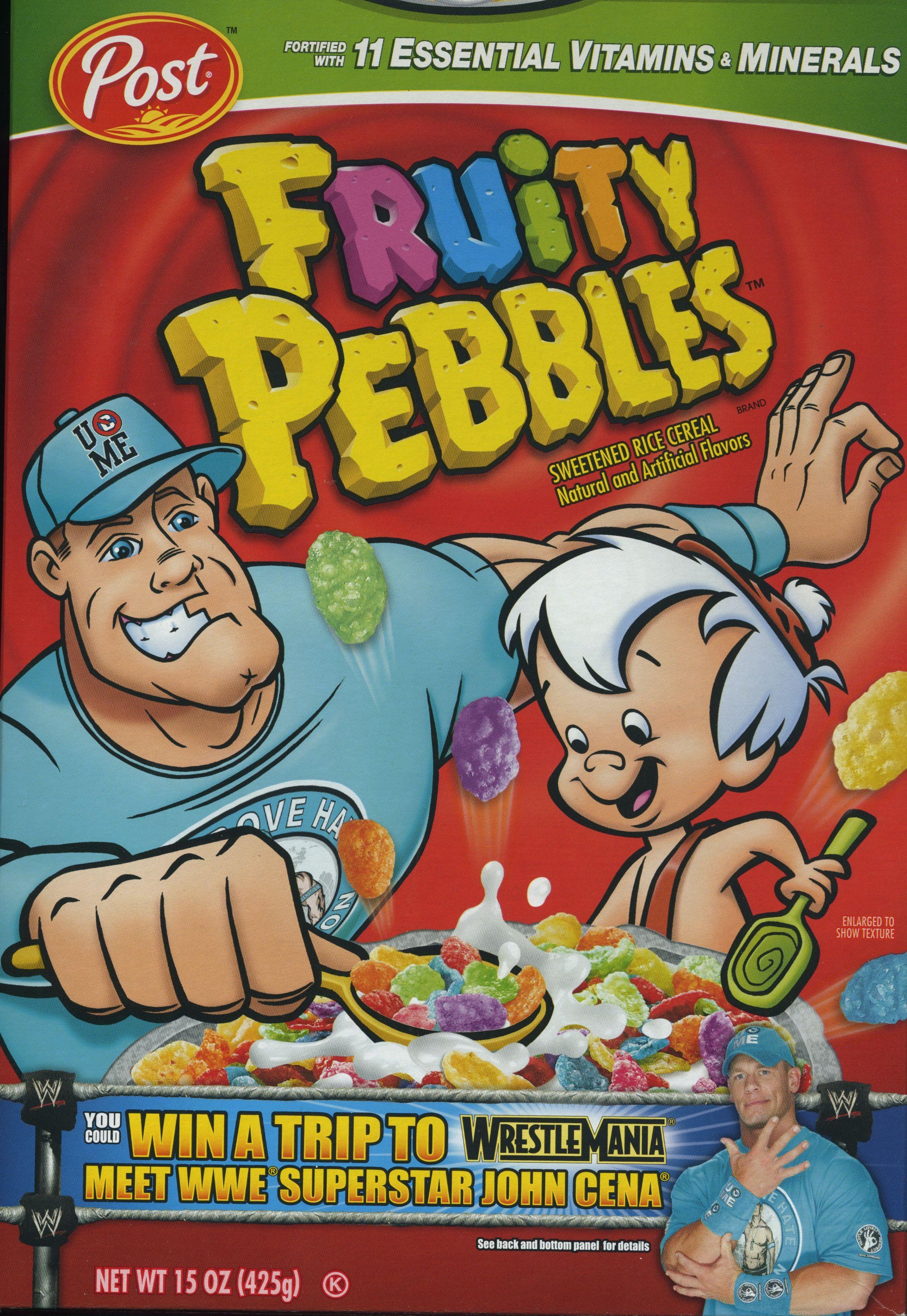 Post fruity pebbles john cena