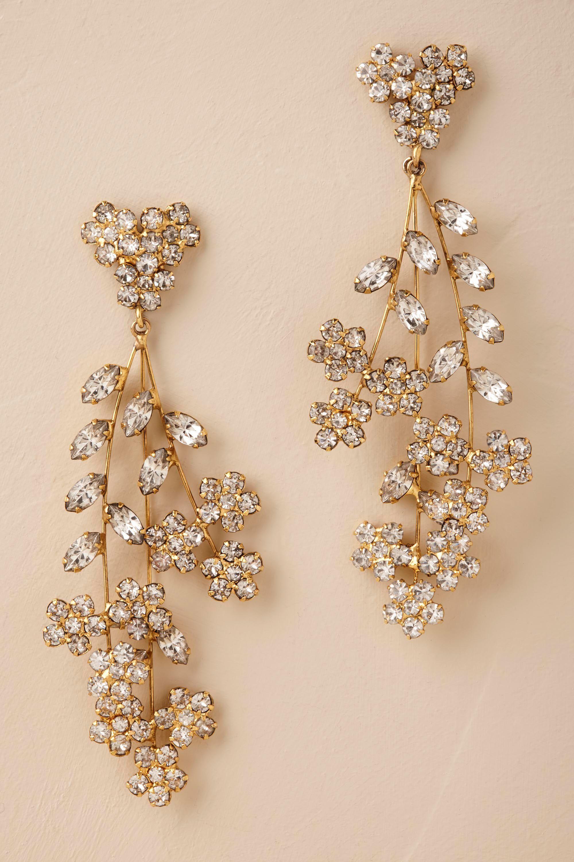 Elysia chandelier earrings from bhldn bride head pieces elysia chandelier earrings from bhldn arubaitofo Images