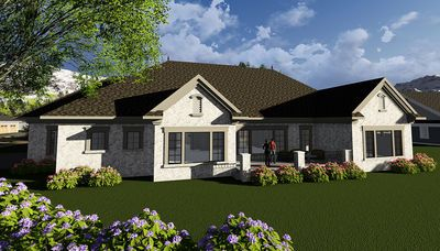 Plan 890027AH: One Story European House Plan | European house plans ...