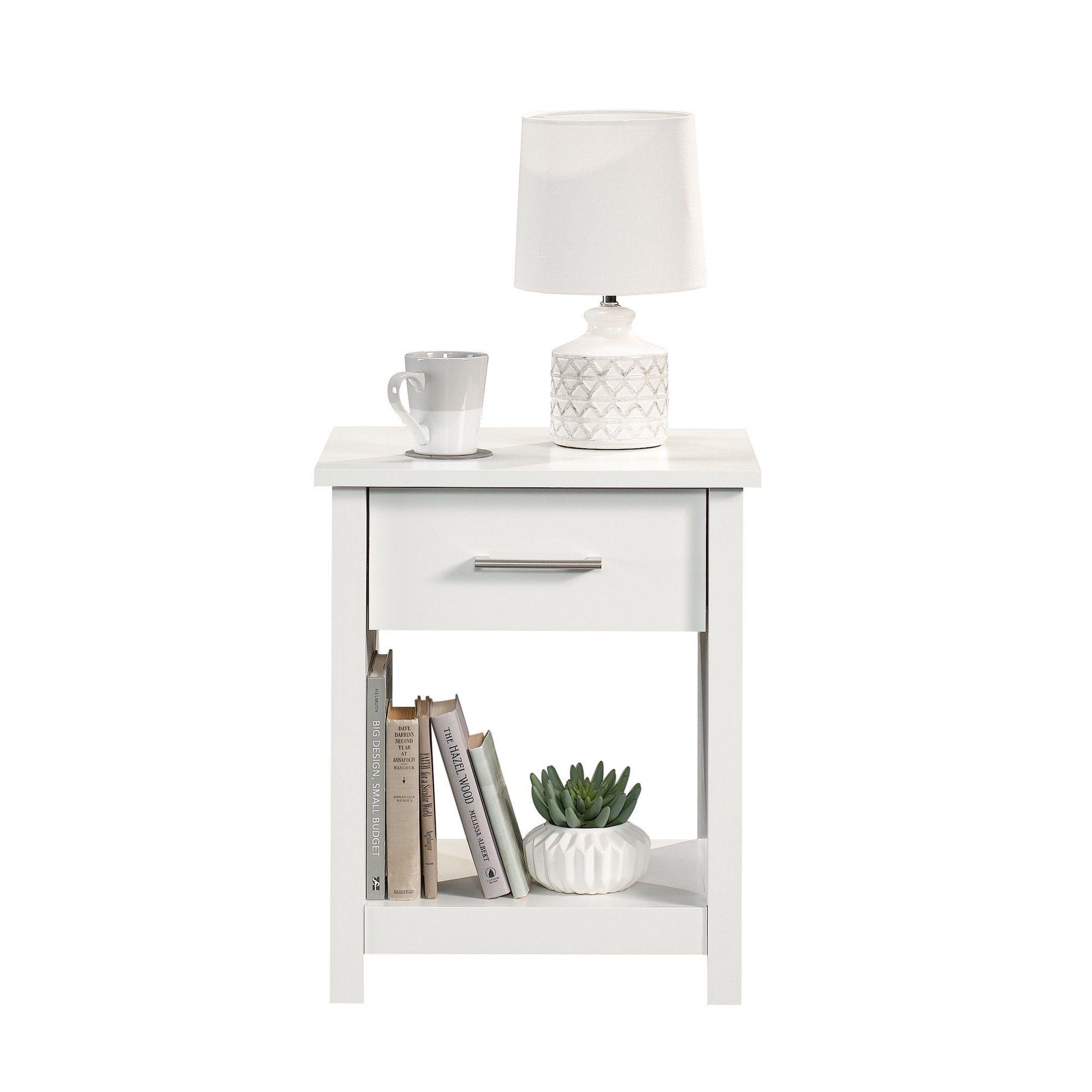 Mainstays Hillside Nightstand With Drawer White Finish Walmart Com In 2021 Small Nightstand White Nightstand Bedroom Bedroom Night Stands [ 2000 x 2000 Pixel ]