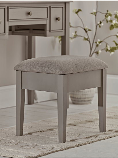 Grey Bedroom Dressing Table Chair
