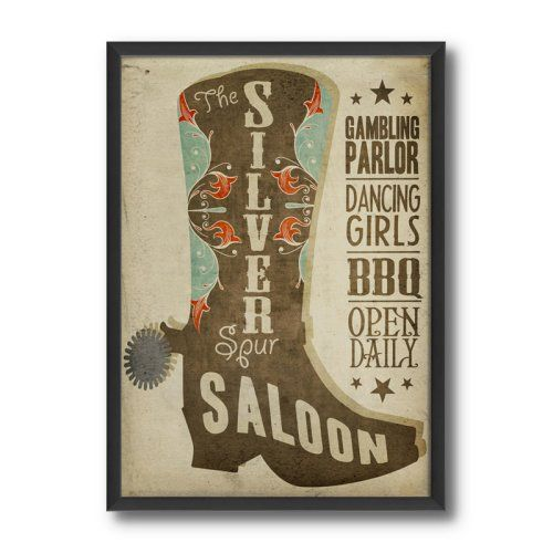 Find it at the Foundary - 25.12 in. Saloon Sign