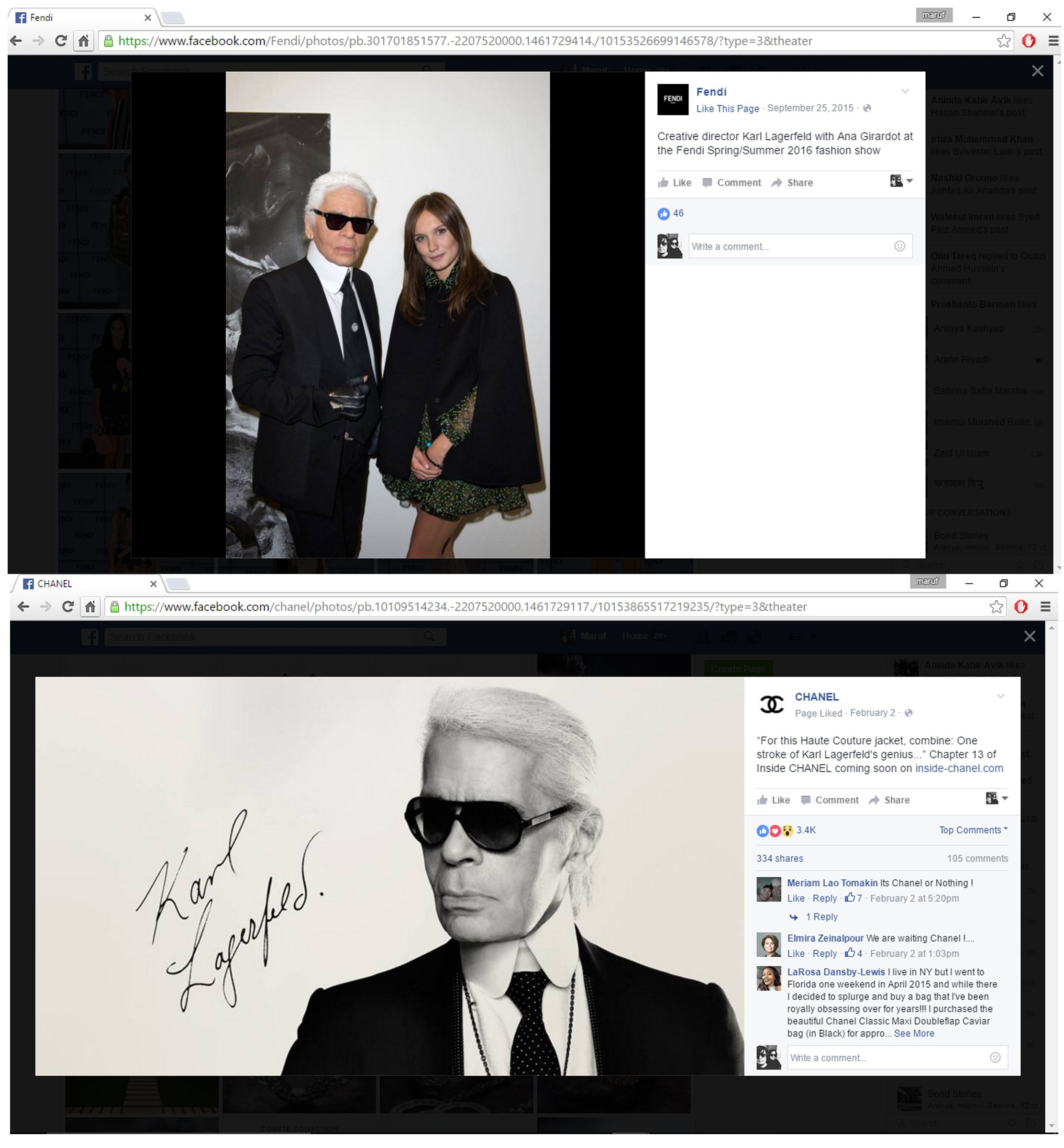 Part 2 Chanel and Fendi page Anti Law 1 For about