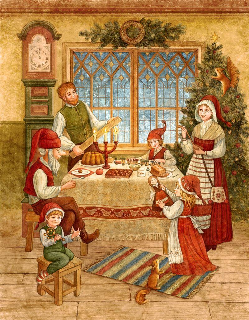 традиции рождественских открыток монтируют специально оборудованные