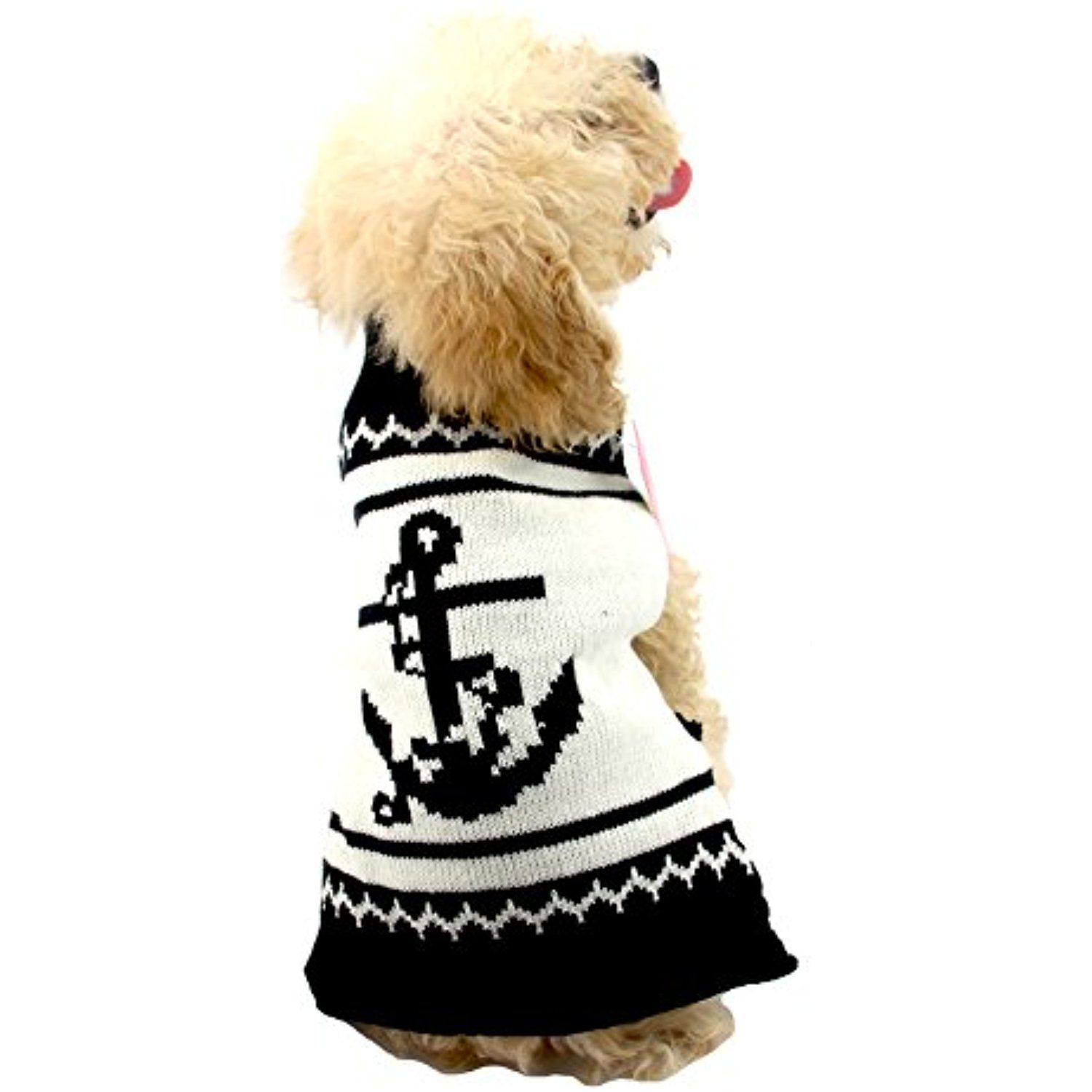 d0a5ab634689 NACOCO Dog Sweater Pet Anchor Costume Halloween Christmas Holiday ...