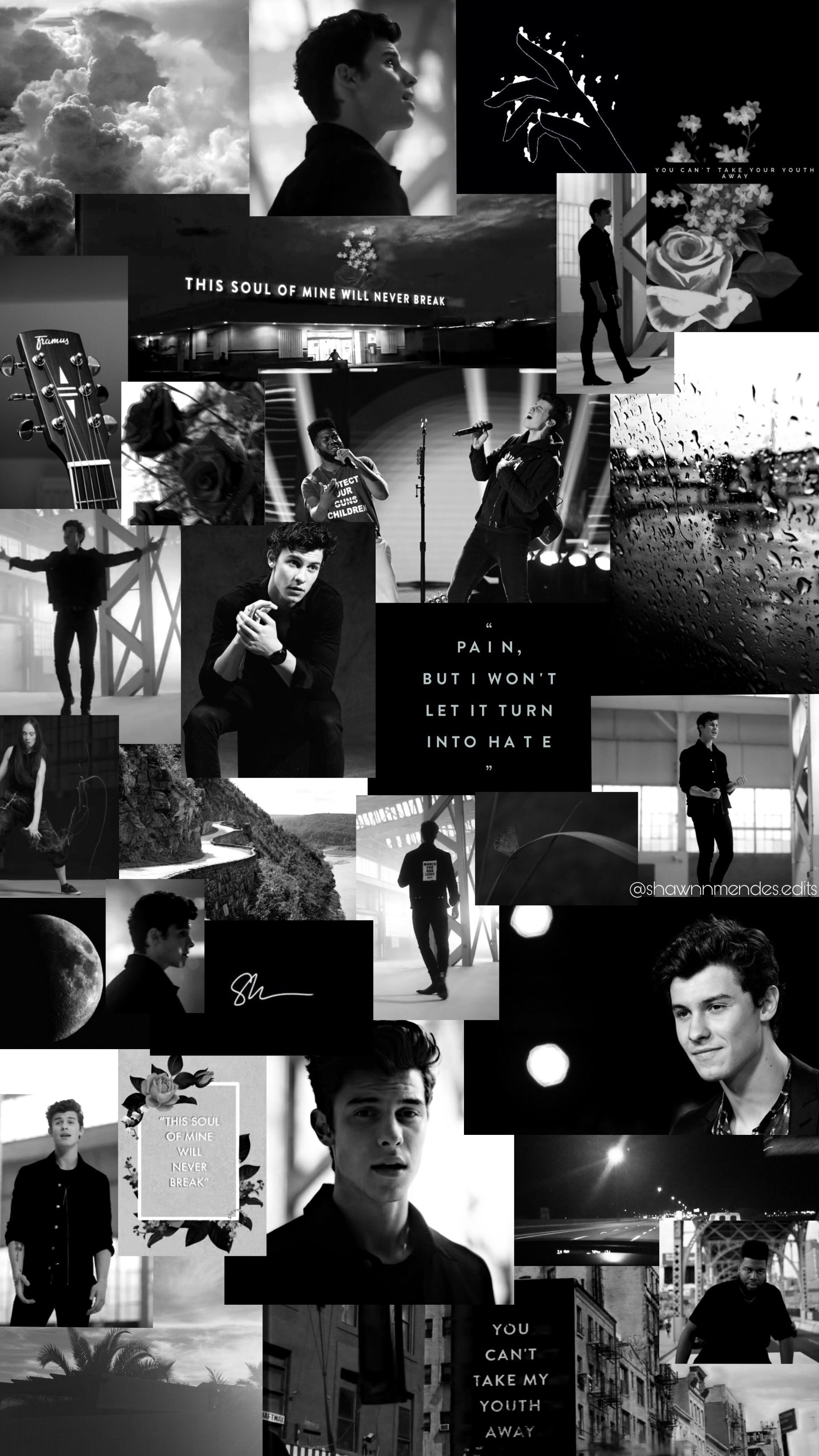 Shawn Mendes aesthetic wallpaper white Shanw mendes