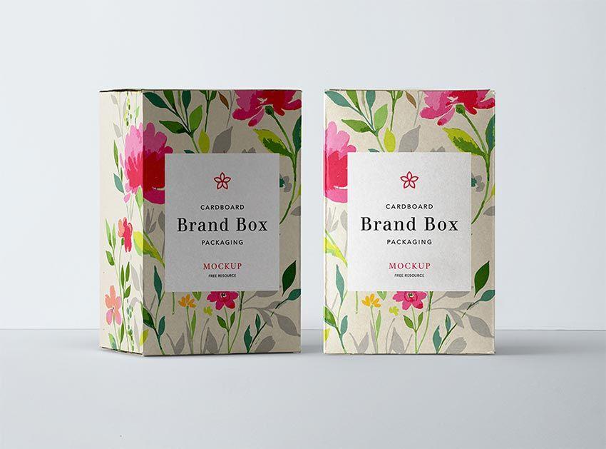 Download Cardboard Box Packaging Mockup Packaging Mockup Box Mockup Free Packaging Mockup