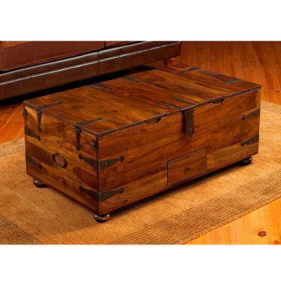 William Shep Thakat Trunk Coffee Table Wsc062