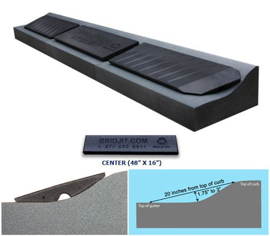 Add On Extension For Driveway Curb Ramps Curb Ramp Driveway Ramp Driveway