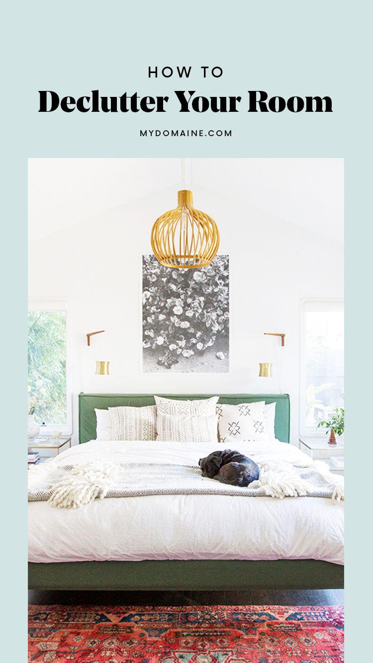 Tips For Decluttering Your Bedroom.