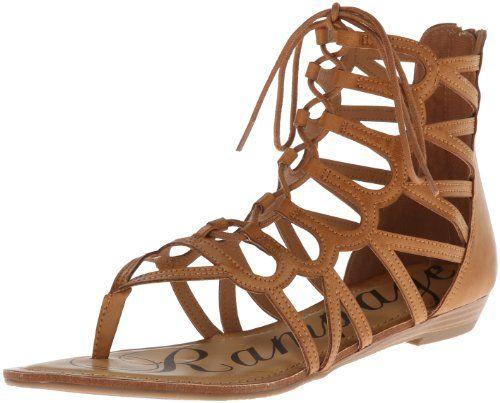 Rampage Women S Salina Gladiator Sandal Cognac 6 M Us