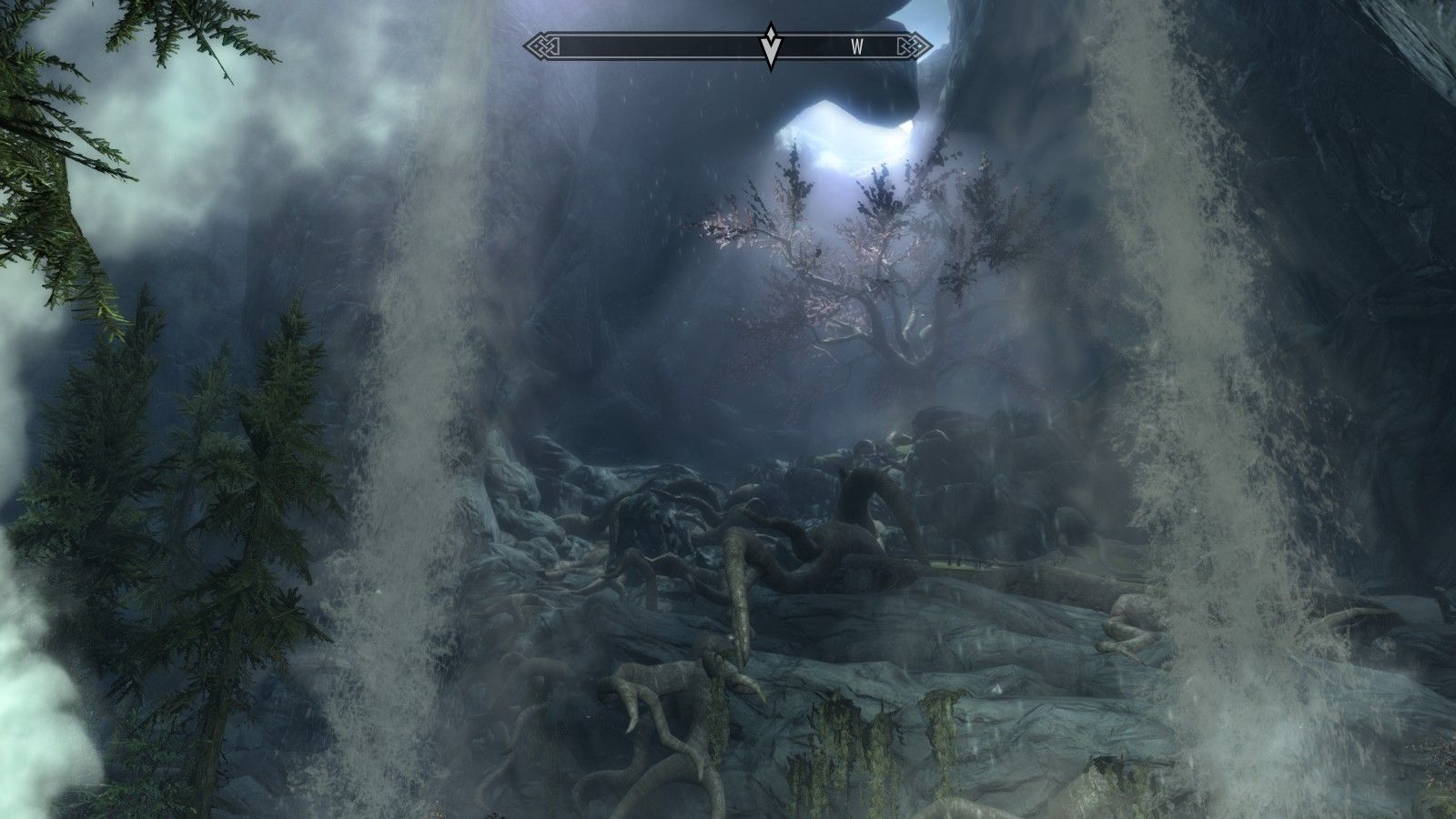 Eldergleam Sanctuary | Skyrim Screenshots | Sci fi, Skyrim, Video games
