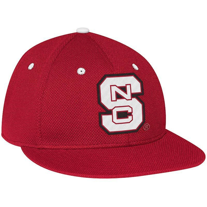 Adult Adidas North Carolina State Wolfpack Fitted On-Field Mesh Cap, Size: 7