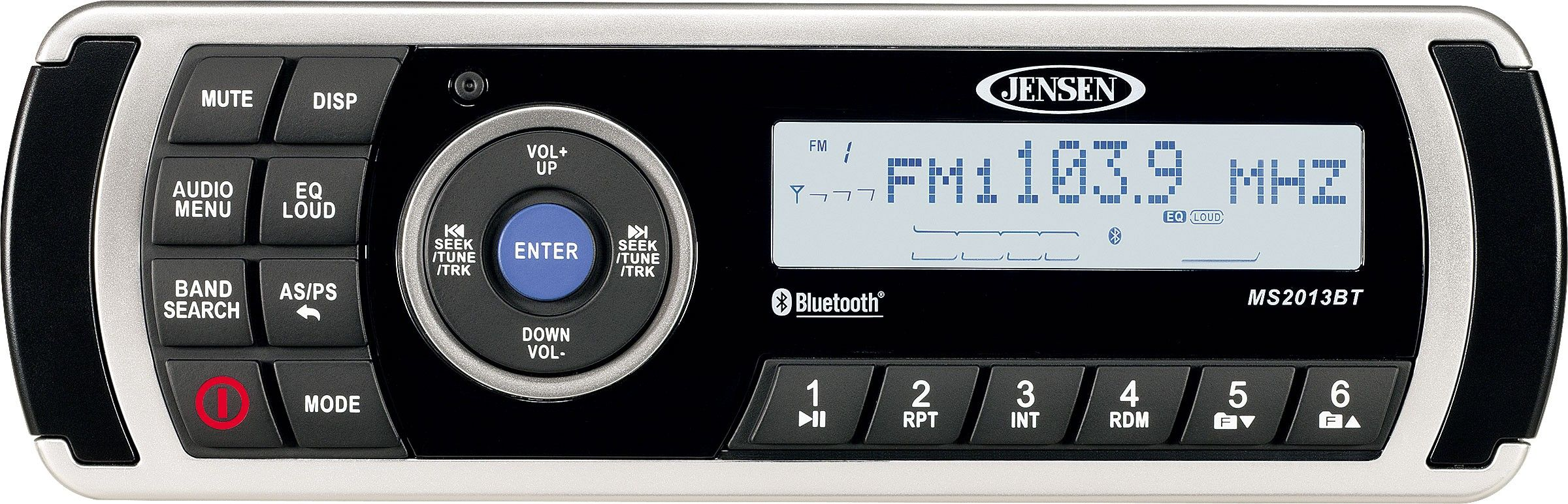 JENSEN MS2013BTR AM/FM/USB Waterproof Stereo with Bluetooth | JENSEN ...