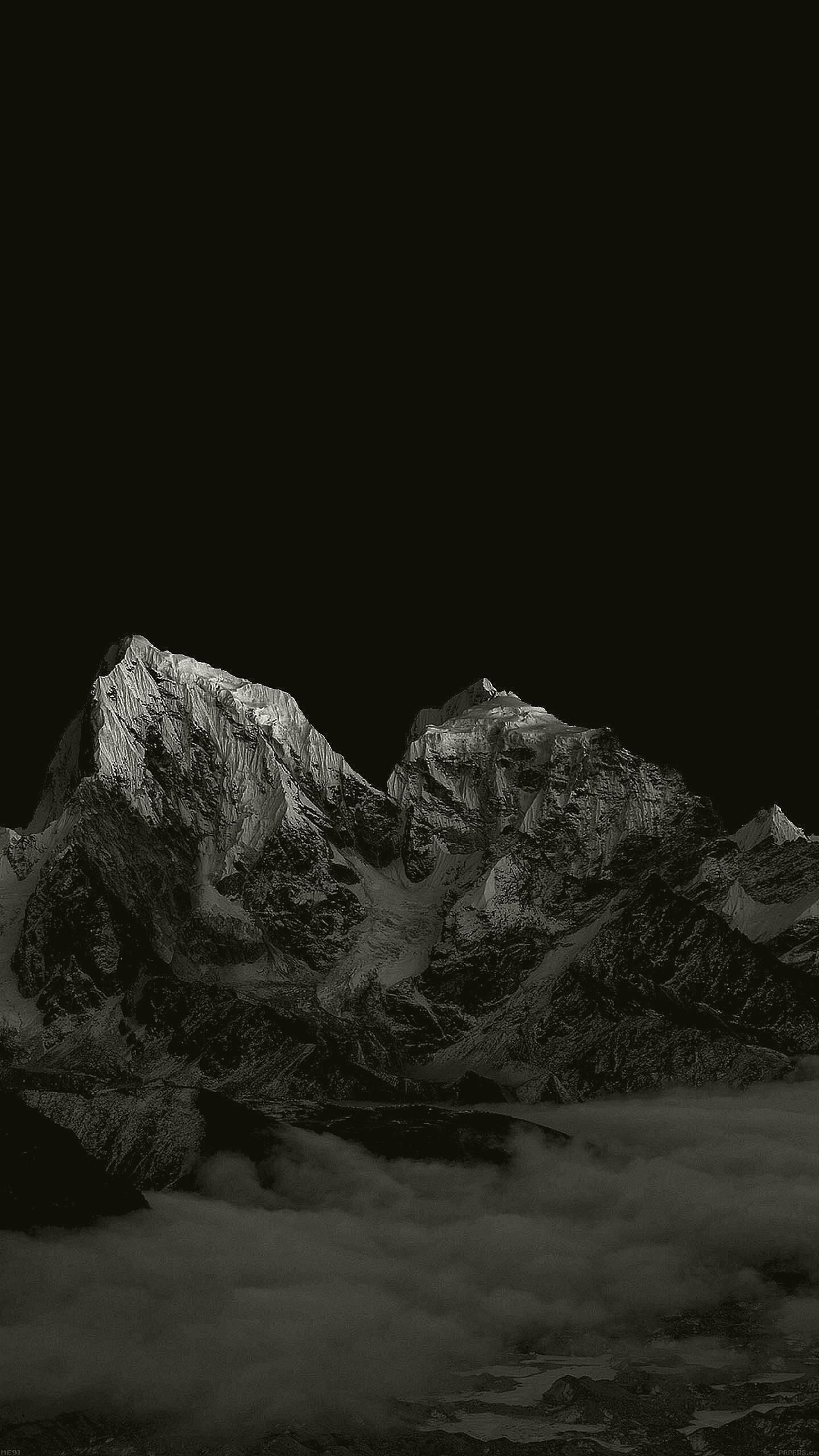 Dark Mountain Wallpaper 1440x2560 In 2020 Black Wallpaper Iphone Dark Dark Wallpaper Iphone Black Wallpaper Iphone
