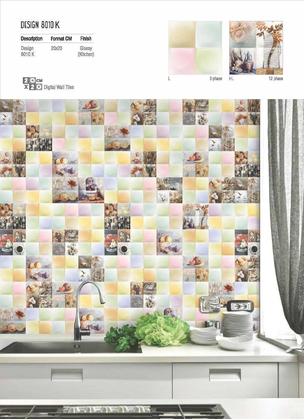 Millennium Tiles 200x200mm (8x8) Digital Wall Tiles Series ...