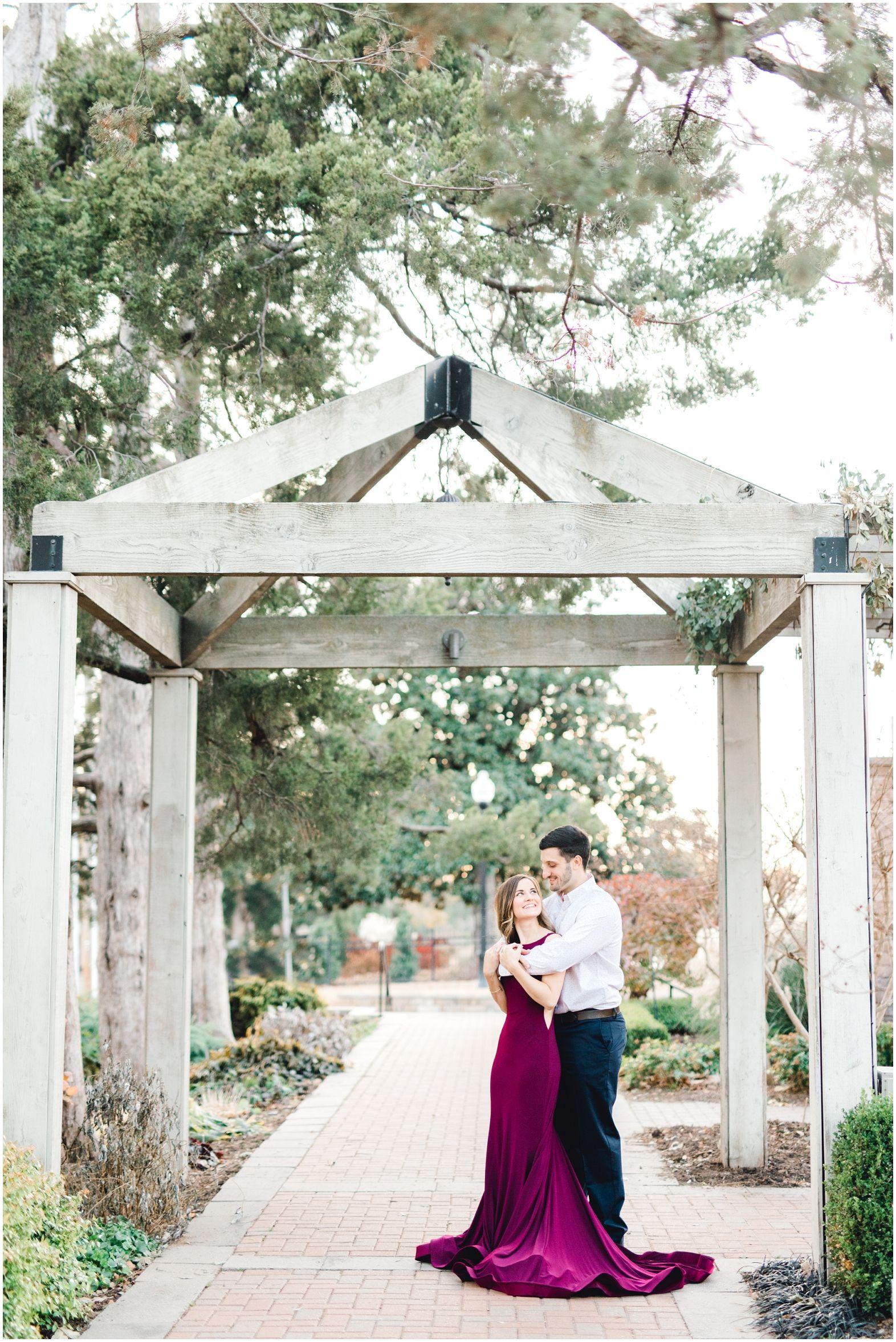 Woodward Park Engagement Session Tulsa Ok Wedding Photographers Wedding Park Weddings