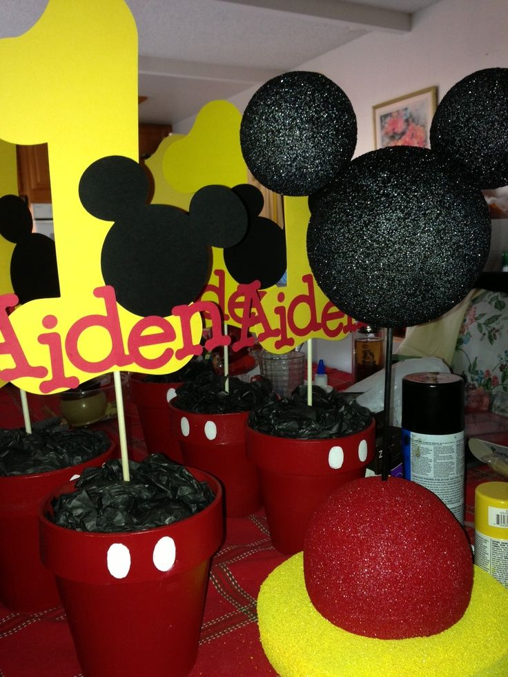 mickey mouse birthday party ideas 1st birthday Google Search