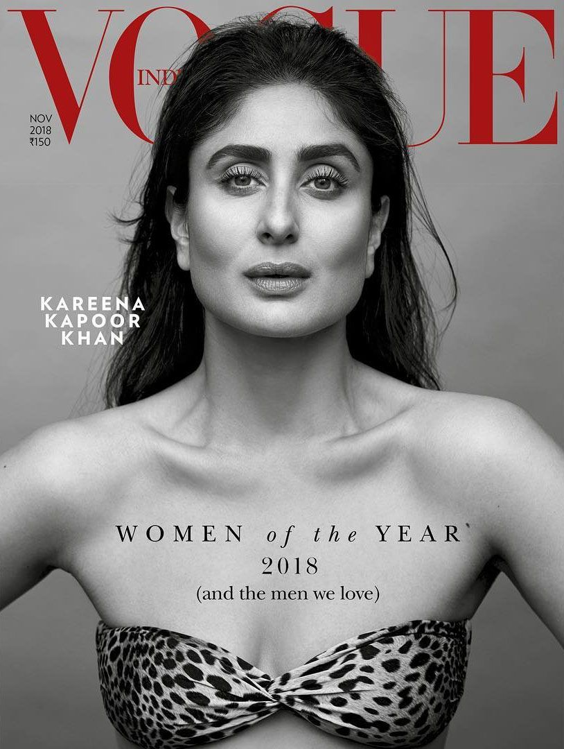 Vogue India November 2018 Kareena Kapoor Kareena Kapoor Vogue India Kareena Kapoor Khan