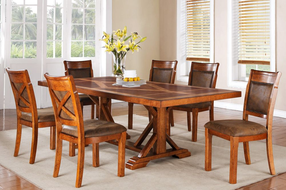 Beautiful D800 Brookside Dining Table U0026 Chairs   Furniture Connexion