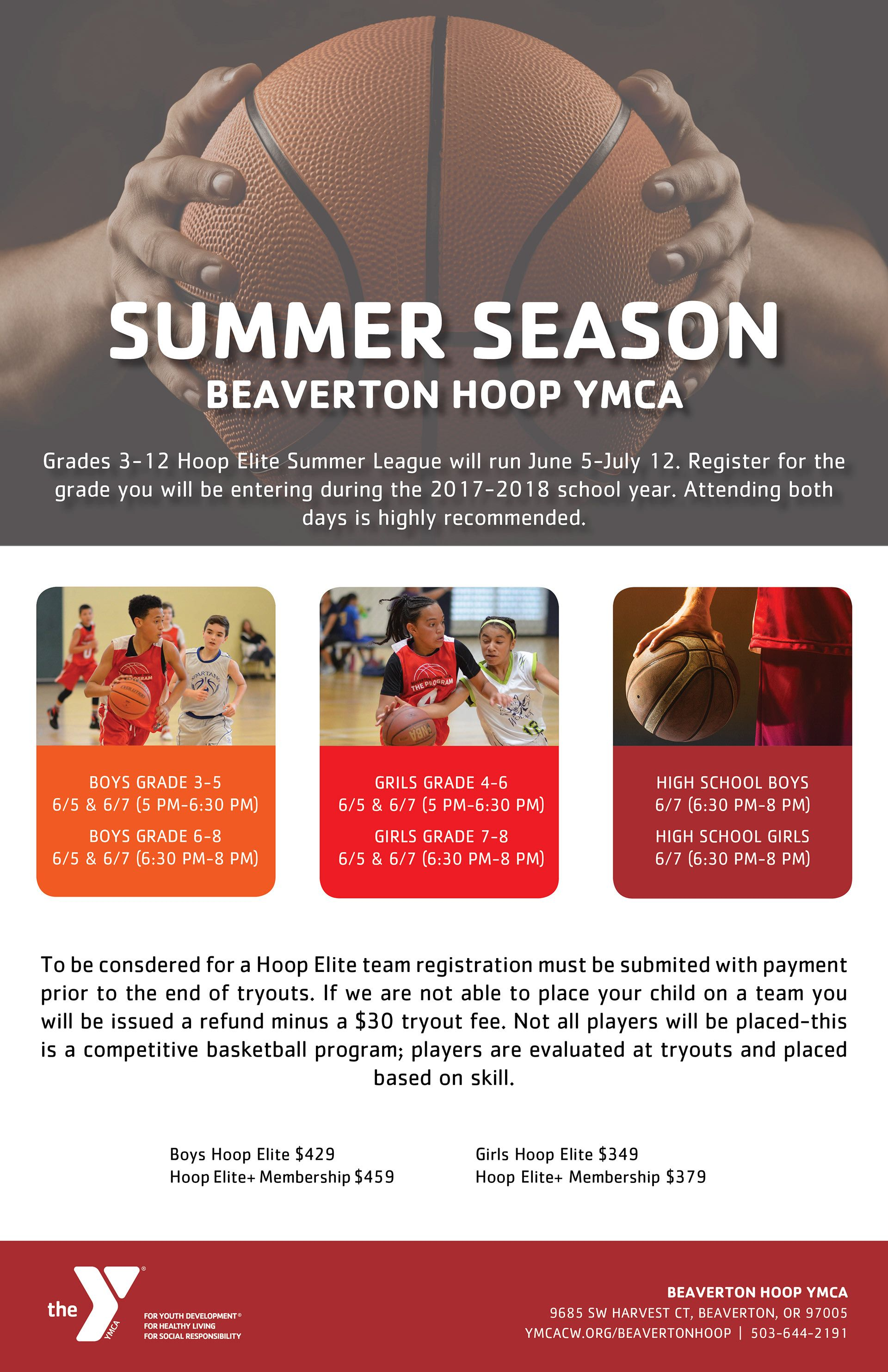 Concept Layout Design Ymca Basketball Poster For Tryouts Ymca Of Columbia Willamette Beaverton Hoop Ymca Offers Compe Ymca Youth Programs Marketing Poster